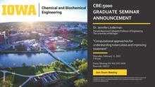 CBE:5000 Graduate Seminar in Chemical and Biochemical Engineering promotional image