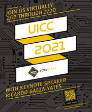 The University of Iowa Computing Conference (UICC) 2021 promotional image