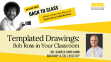 Templated Drawings: Bob Ross in your Classroom (CIRTL Back to Class Series)  promotional image
