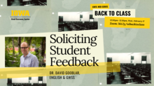 Soliciting Student Feedback (CIRTL Back to Class Series)  promotional image